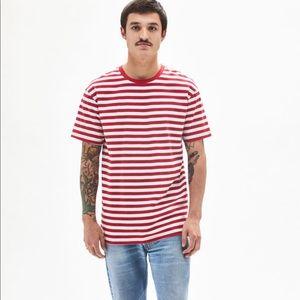 [Pacsun Basics] Amra Stripe Regular T-Shirt